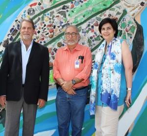 Jack Delman, Luis Felipe Rodríguez y María Amalia León de Jorge