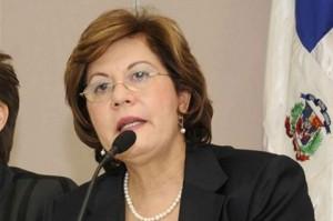 Josefina Pimentel fue sustituida por Baret mediante un decreto emitido por el presidente Danilo Medina.
