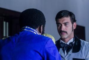 """Una escena de la película """"Duarte: Traición y gloria"""" que se filma en Santo Domingo. [Crédito de imagen: Kamajanes Nocturnos Films]."""