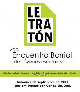 Letraton afiche 2013