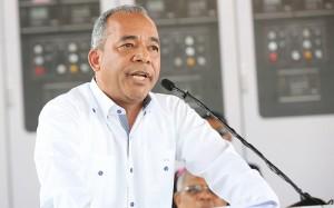 Rubén Jiménez Bichara, vicepresidente de la Corporación Dominicana de Empresas Eléctricas Estatales.