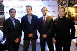 Desde la izquierda, Manuel Funcía, Luis Dihmes, Diego Fernández y Gaspar Fuster.