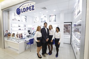 Desde la izquierda, Maylenis Martinez, Ramón Juan Lopez, Merary Rivera y Cindy Polanco.