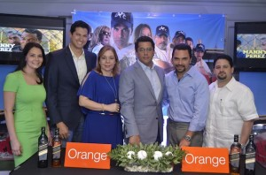 Desde la izquierda, Nelva Peláez, Iván Valdez, Tammy Reynoso, David Collado, Manny Pérez y Rafael Núñez.