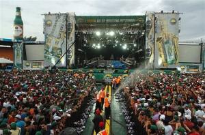 El público disfruta en grande las tres jornadas que celebra el espectacular Festival Presidente de la Música Latina. [Crédito de imagen: cortesía CND]
