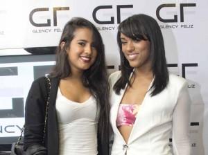Airam Toribio y Paola de la Cruz asistieron a la presentación del nuevo proyecto.