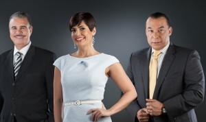 Desde la izquierda, Luis José Chávez, Yolanda Martínez y Cristhian Jiménez.