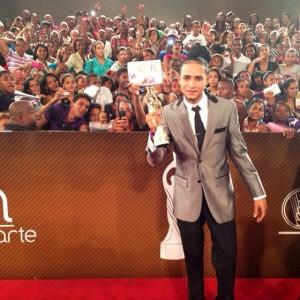 Mozart La Para, ganador del Soberano del Público por segundo año consecutivo.