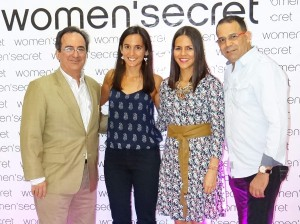 Fernando García, Laura García, Angiel Pérez y Raymond Ulloa.