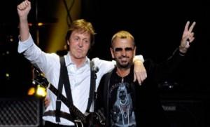 Paul McCartney y Ringo Starr actuaron juntos en la pasada entrega de Los Grammy en febrero del 2014.