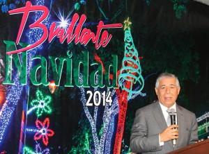 """El alcalde Roberto Salcedo cumple promesa de que esta segunda versión de Brillante Navidad sería """"más espectacular""""."""
