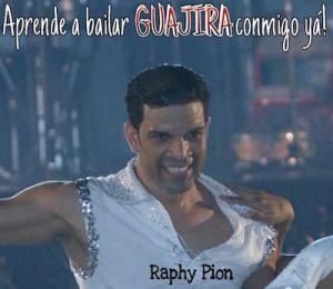 """El coreógrafo Raphy Pión imparte clases para aprender a bailar """"guajira""""."""