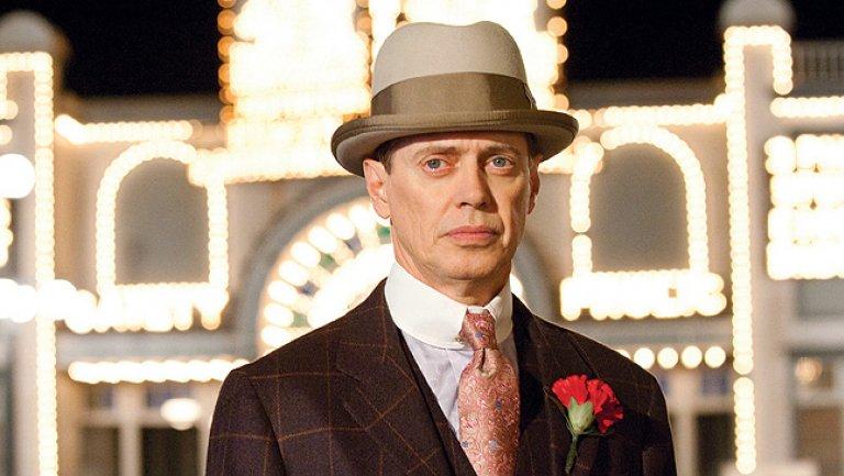 """Steve Buscemi, protagonista de """"Boardwalk Empire"""", la serie sobre la Ley Seca y la mafia en los Estados Unidos de los años 30."""