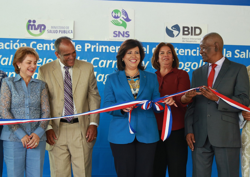 Margarita cede o inaugura tres centros de salud en san - Centro de salud san juan ...
