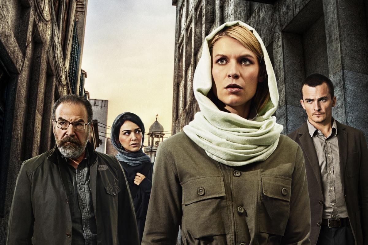 Claire Danes como Carrie Mathison en Homeland en un episodio de la cuarta temporada.