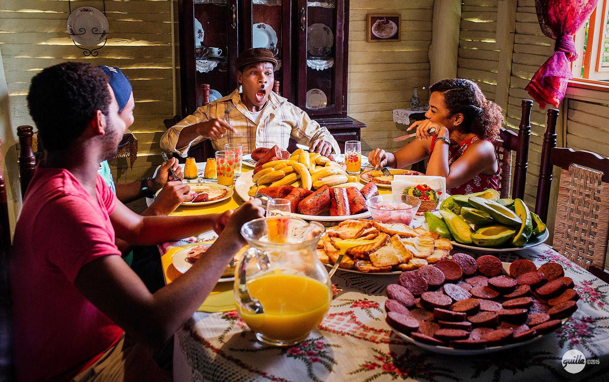 Una escena de Tubérculo Gourmet, película que llevó al cine más de medio millón de personas en el 2015.