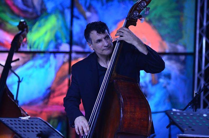 John Patitucci en una sesión del DR Jazz Festival.