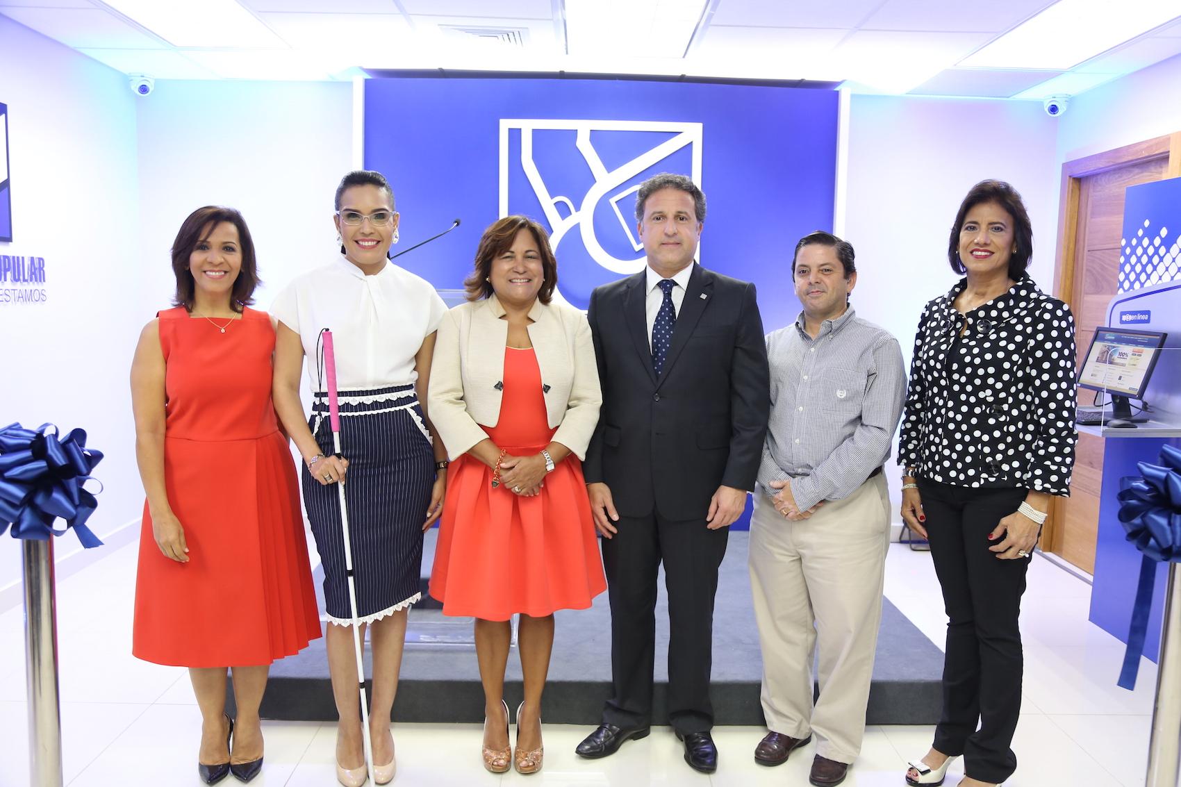 Mildred Minaya, Francina Hungría, Nurys Marte, Gustavo Ariza, Tommy Guzmán e Ivette Bermúdez.