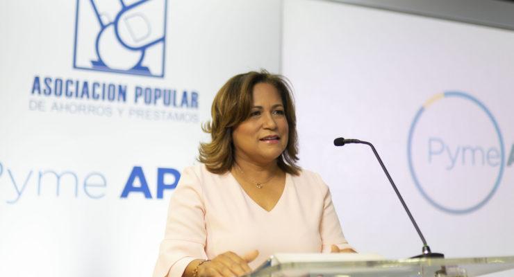 Nurys Marte, vicepresidenta de negocios de APAP.