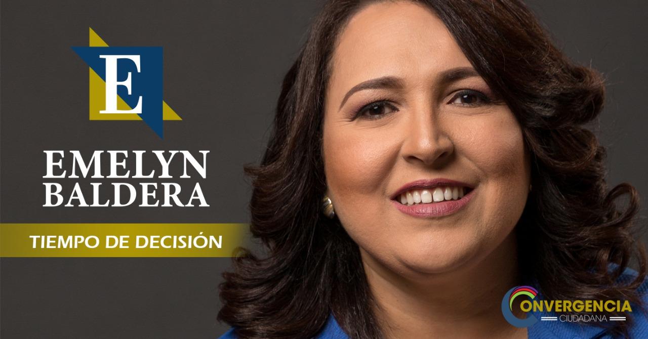 Emelyn Baldera en Convergencia Ciudadana