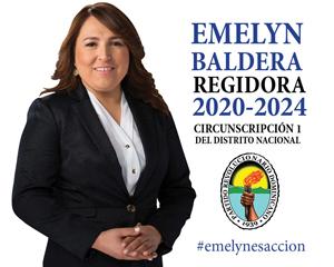 Emelyn Baldera Regidora 2020-2024 Circunscripción Distrito Nacional